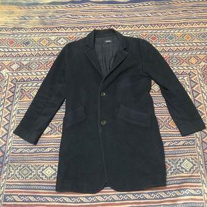 A.P.C. Wool pea coat size large